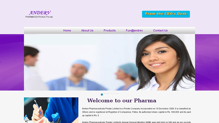 http://www.andervpharmaceuticals.com/