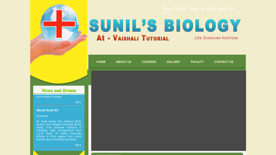 Sunil Biology
