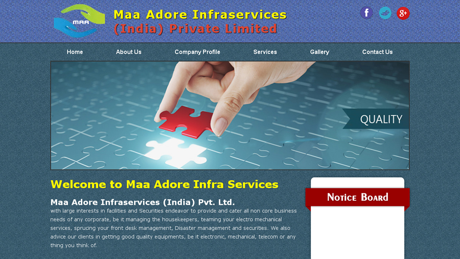 Maa Adore Infra Services