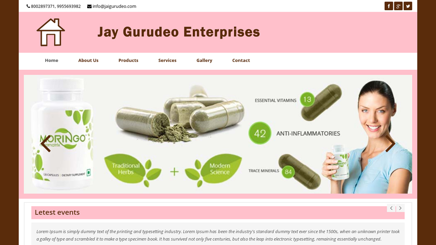 Jai gurudeo Enterprises